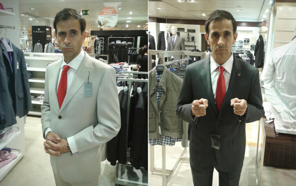 Eligiendo indumentaria del Abogado del Diablo. Verano 2012